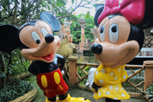 mickey minnie mouse isdaan floating restaurant