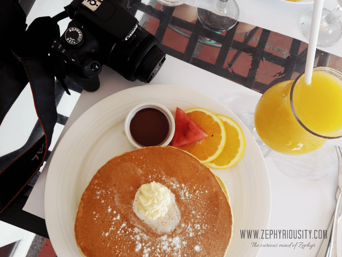Charito by Bag of Beans pancake & mango shake