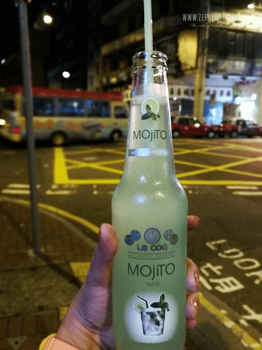 le coq mojito bottle drink