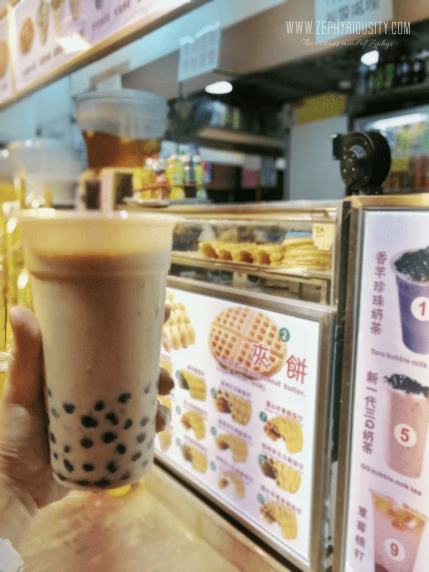 wang jin milk tea